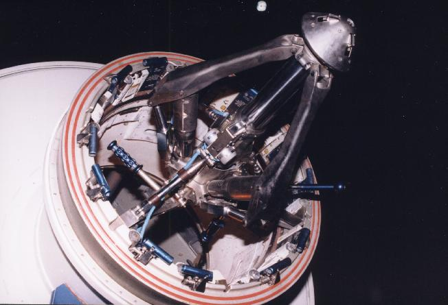 stages of apollo spacecraft docking -#main