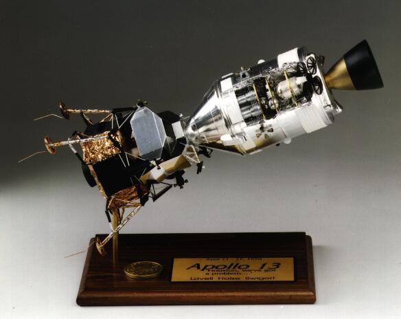 Apollo Lunar Module Model Kit (page 3) - Pics about space