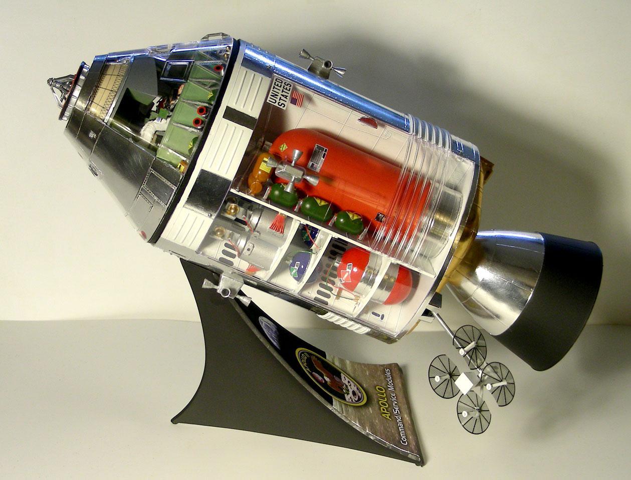 apollo spaceship model - photo #47