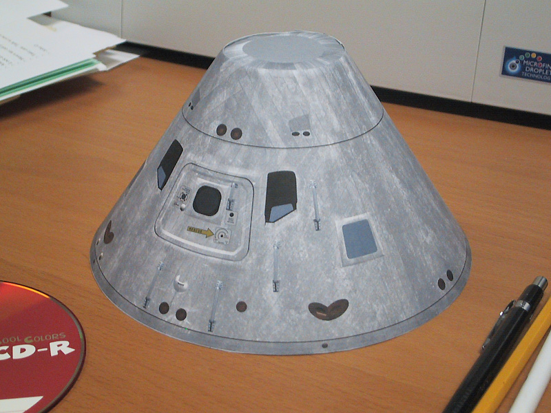 spacecraft paper models to build - photo #26
