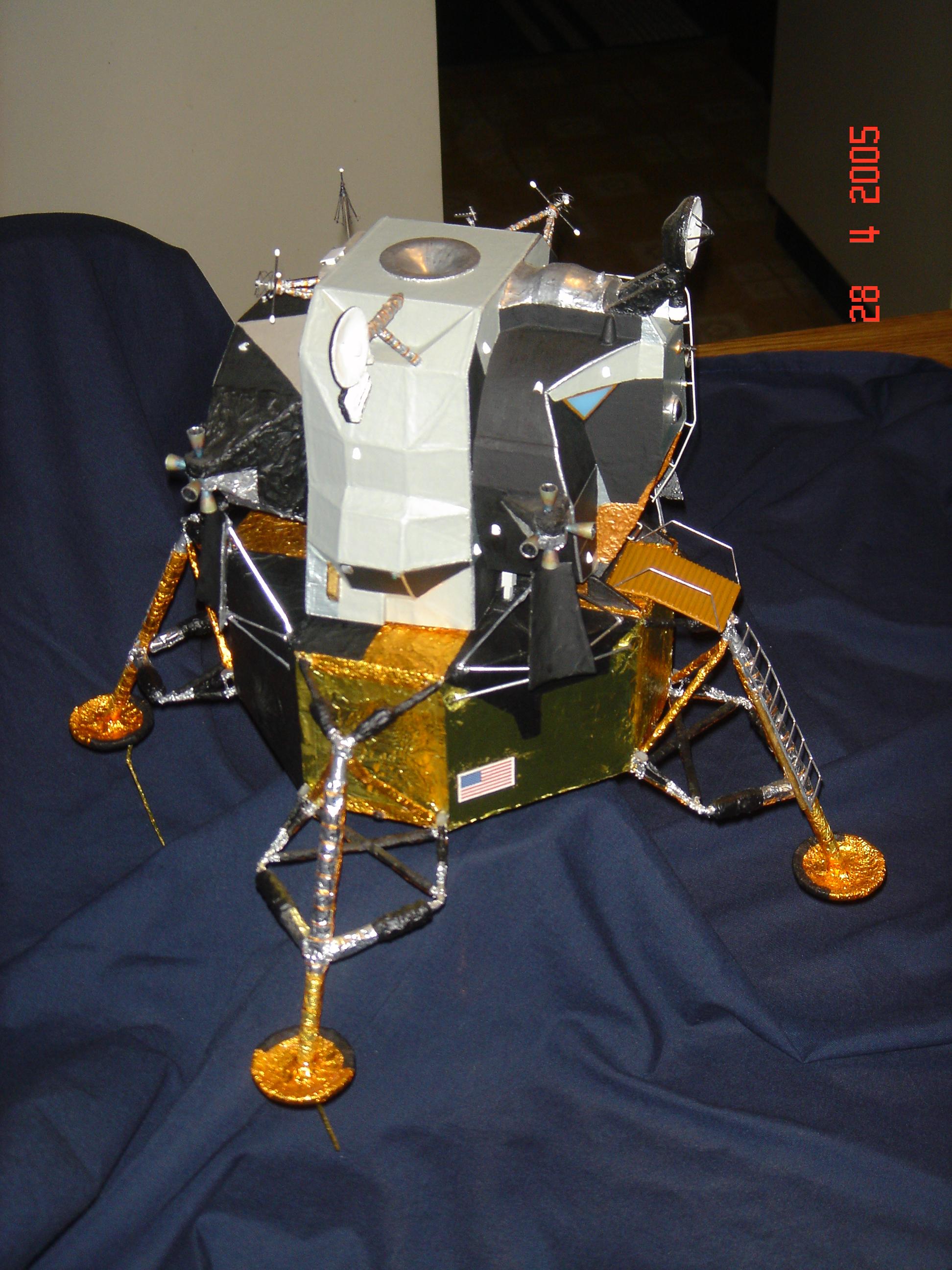 Surveyor Lunar Lander Model Kit (page 2) - Pics about space