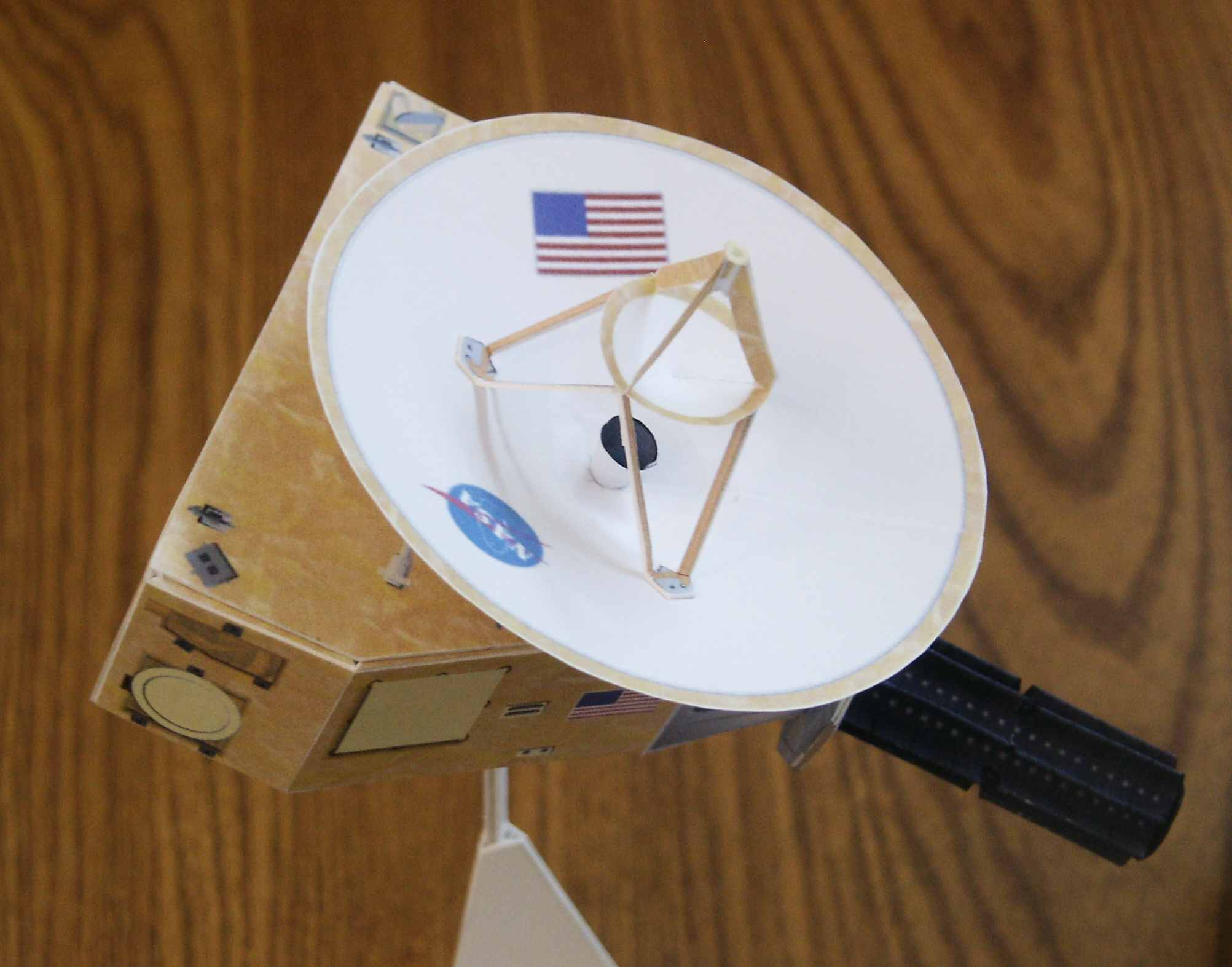 paper spacecraft models - photo #38