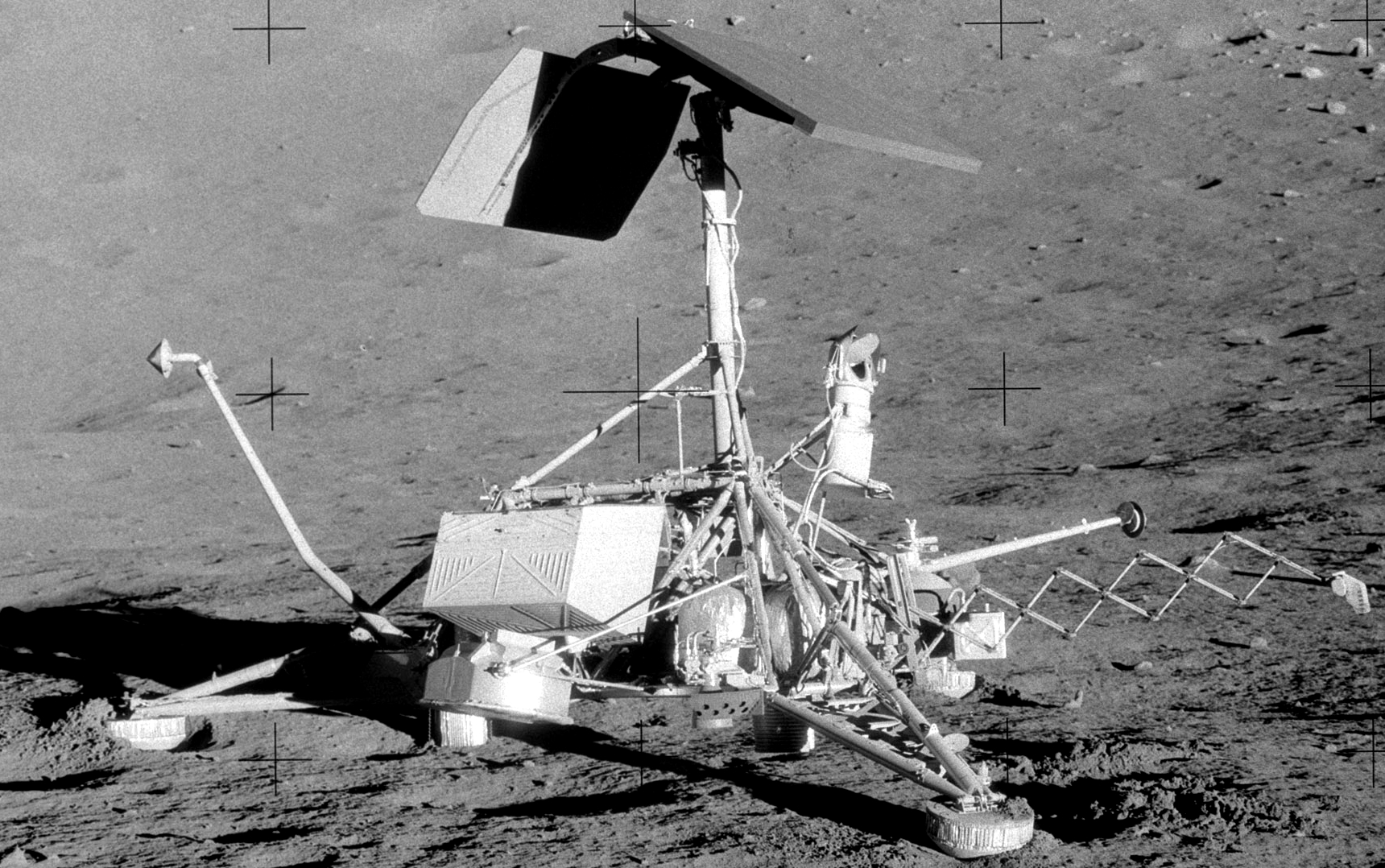 surveyor moon mission - photo #8