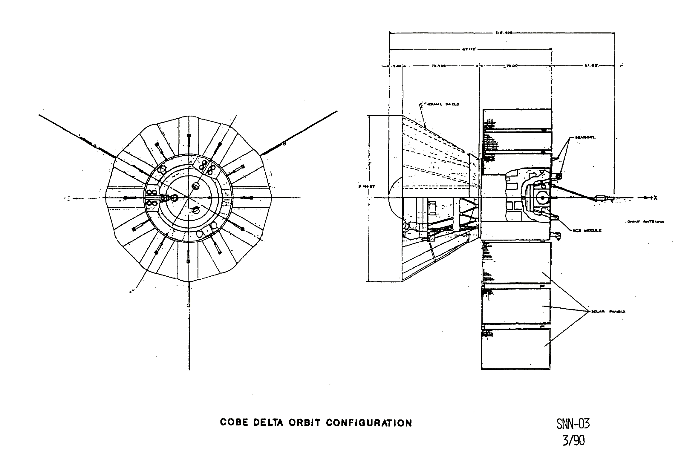 Diagrams of the Spacecraft Explorer 6 - Pics about space